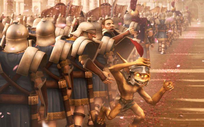 игра римские пазлы